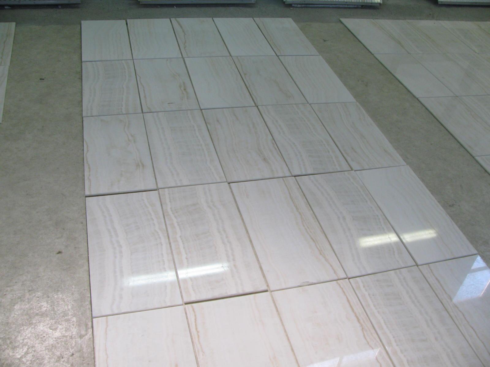 Vanilla Onyx Tiles Polished Beveled 12x24x38 Tirmar