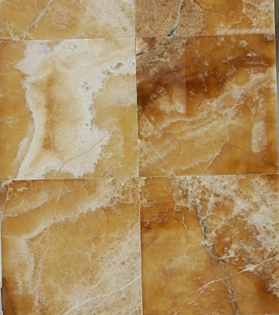 Brown Onyx Tiles Polished Beveled 12x12x38 Tirmar