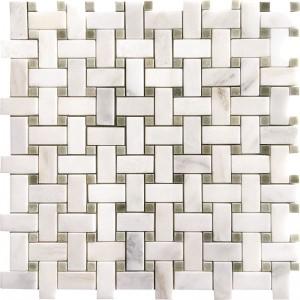 calacatta-verde-basketweave-mosaic
