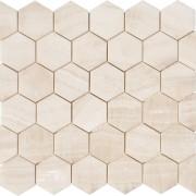 vanilla onyx mosaic P. 2 inch hexagon (1)